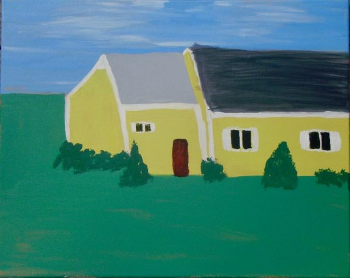 """""""House"""" (acrylic), NFS"""
