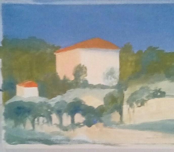 Moriandi's House (oil, 10x12) - NFS