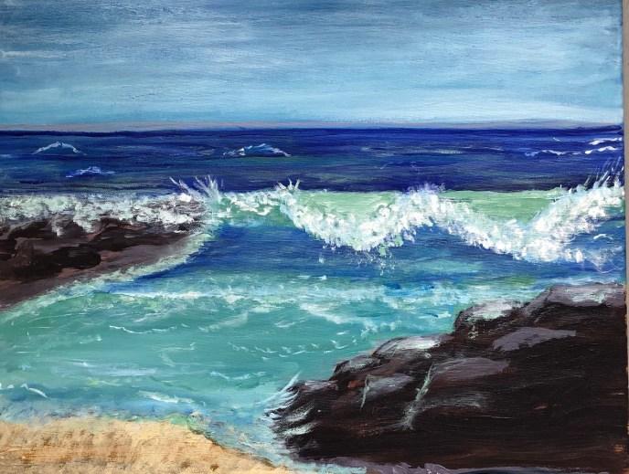 """""""The Wave"""" (acrylic) - NFS"""