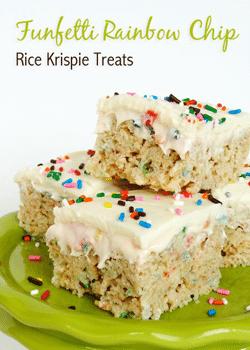 Funfetti Cake Batter Rice Krispie Treats Best Rice Krispie Treat Recipe