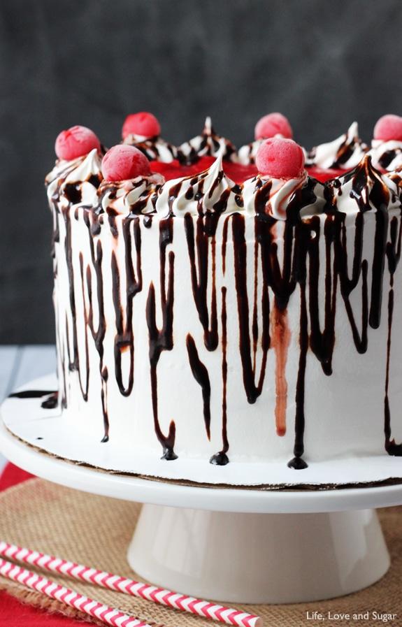 Black Forest Ice Cream Cake Life Love And Sugar