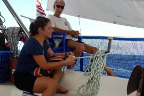Leben auf einem Boot