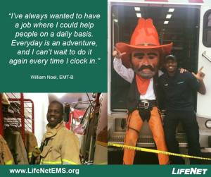 William Noel, EMT, Stillwater, Oklahoma, LifeNet Jobs