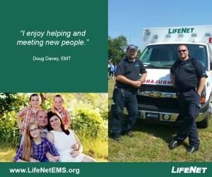 Doug Davey, Paramedic, LifeNET EMS, Hot Springs, AR Division