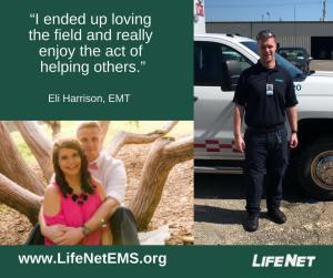 Eli Harrison, EMT, Stillwater, OK, LifeNet EMS