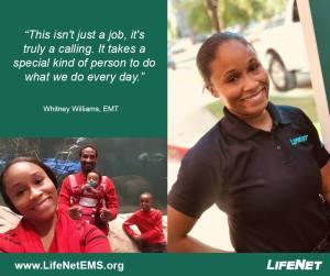 Whitney Williams, Paramedic, LifeNet EMS, jobs in Texarkana