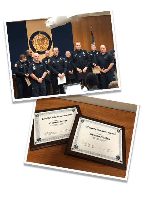 LifeNet Lifesaver Award | EMS Community Helpers