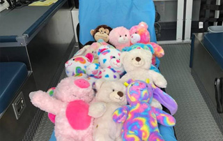 LifeNet Receives Donation of Build-A-Bear stuffed animals