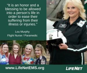 Lou Murphy, Flight Nurse, Texarkana, TX