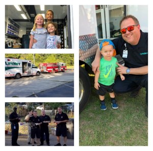 LifeNet EMS participates in National Night Out in Hot Springs and Texarkana.