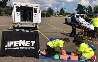 Barry Global Safety Awareness Day - LifeNet EMS Bystander CPR demonstrations