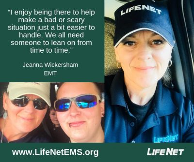 Jeanna Wickersham, EMT, LifeNet EMS Texarkana