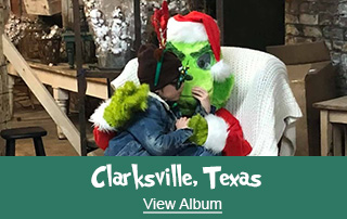 LifeNet Photos with the Grinch Album - Clarksville, Texas