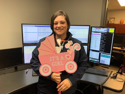 LifeNet Dispatcher helps deliver baby over the phone before ambulance arrives.