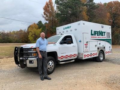 LifeNet's Stillwater Fleet Receives New Ambulance