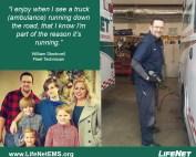 William Stockwell, Fleet Technician, LifeNet EMS Hot Springs, AR