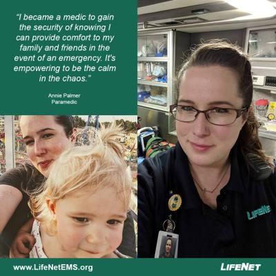 Annie Palmer, Paramedic, LifeNet EMS, Texarkana