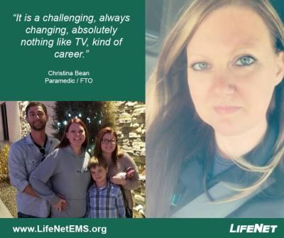 Christina Bean, LifeNet EMS, Stillwater, OK, Paramedic