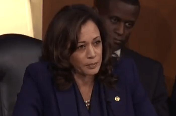 "Kamala Harris Opposes Amy Coney Barrett: ""It's Ruth Bader Ginsburg's Seat, She Would Destroy Roe"""