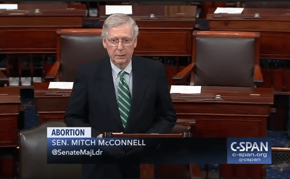 Senate Leader Mitch McConnell Wins Re-Election Against Abortion Activist Amy McGrath