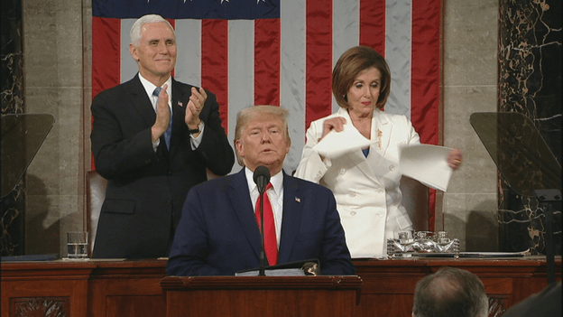 Congressman Files Ethics Complaint Against Nancy Pelosi for Ripping Up Trump's Pro-Life SOTU