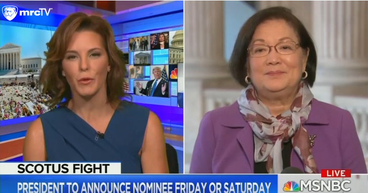 MSNBC Complains Democrats Can't Stop Trump's Nominee and Roe v Wade Will be Overturned