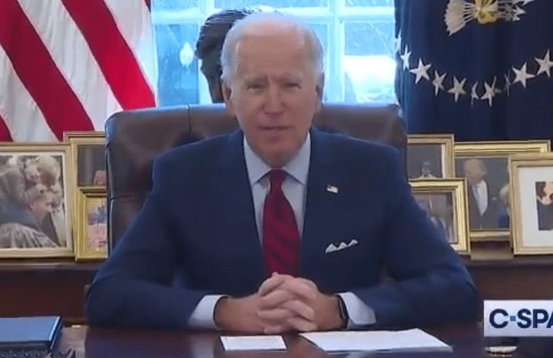 "WATCH: Joe Biden Slips Up Again and Calls Kamala Harris ""President"""