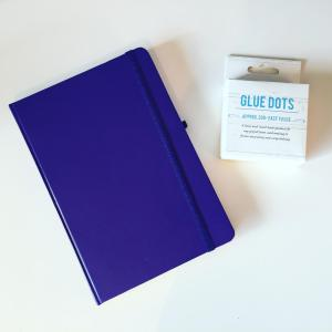 Notebook and Glue Dots