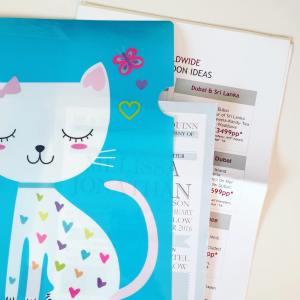 Folder for Leaflets Wedding Fair Tips