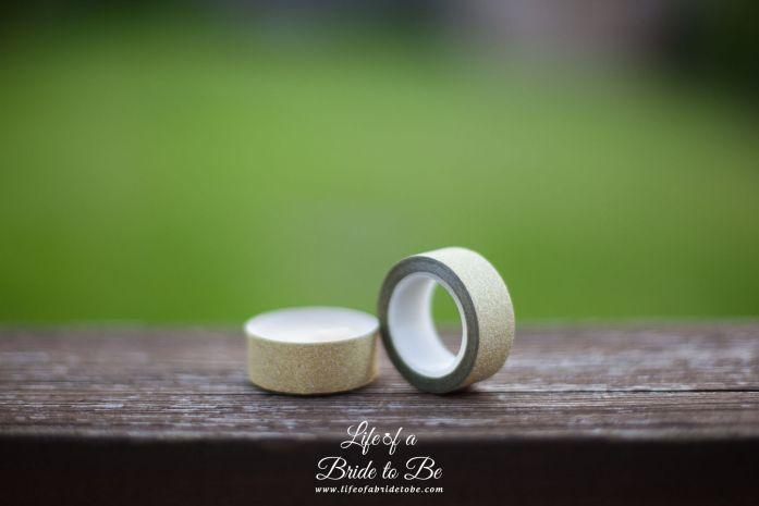 Glitter Washi Paper Tap
