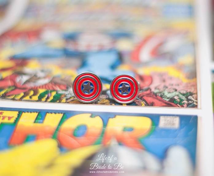 'Captain America' Cufflinks