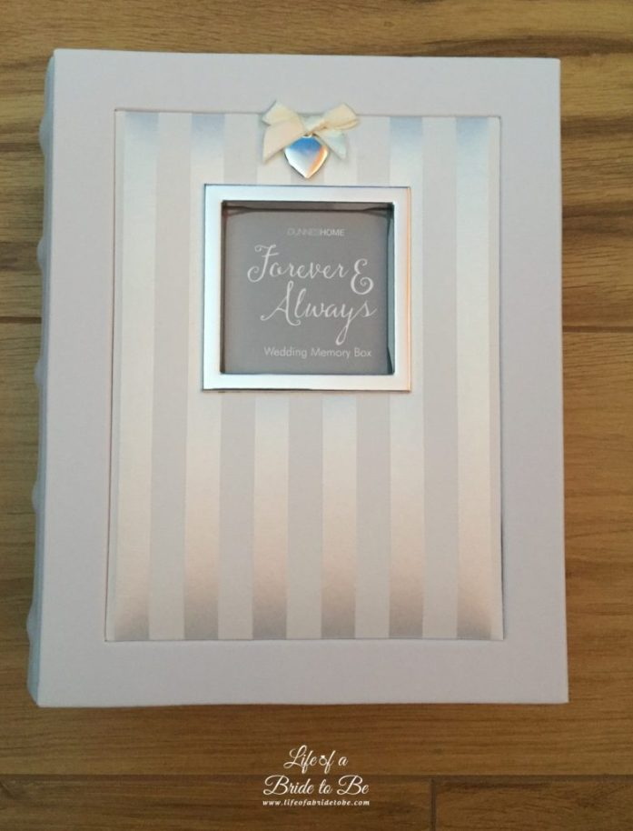 MThe Wedding Keepsake Box