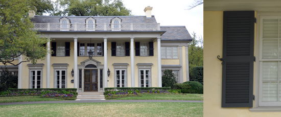 Neoclassical style house