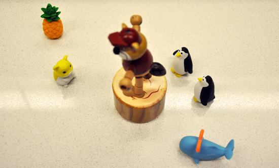 japanese erasers, children's toys, the next big thing, buc-ee the beaver, toy