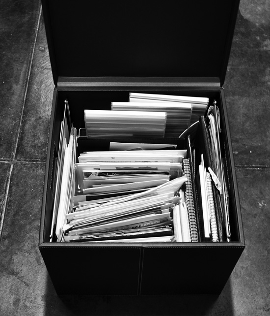 Bob Borson memory box