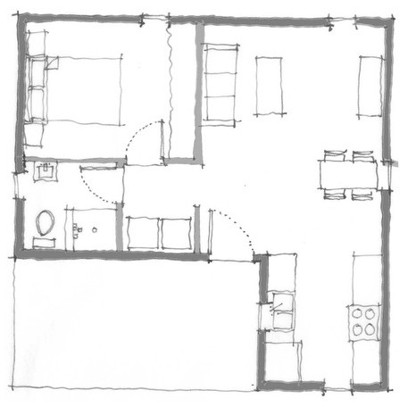 Rural Studio the Square Plan
