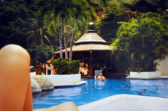 Las Brisas pool in Acapulco