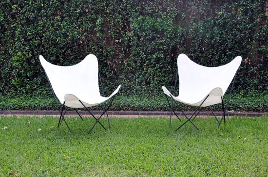 Butterfly Chairs With Circa50 Covers .