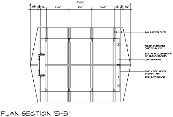 Casa 2011 Bug House Plan Section BB