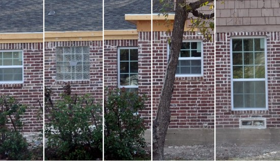 Window comparison composite