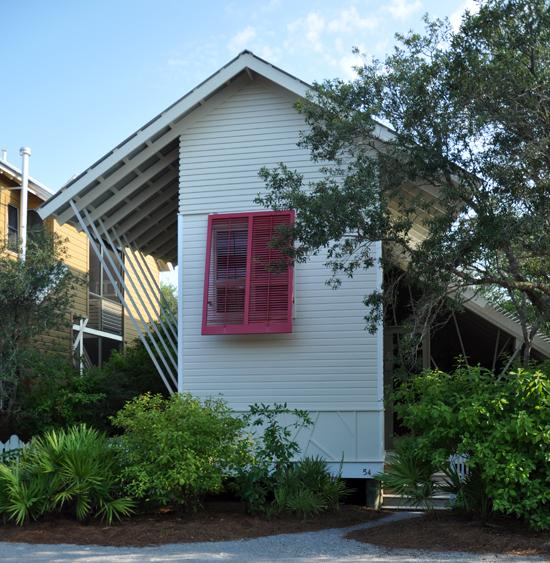 Mockbee Cocker Seaside House Street Elevation