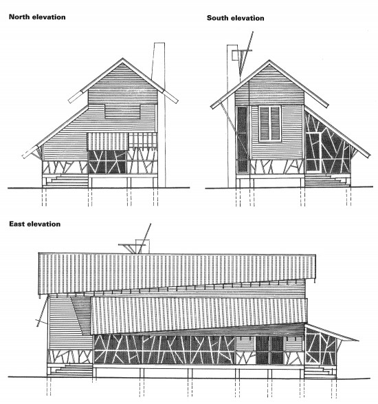Mockebee Coker Kennedy House Elevation drawings