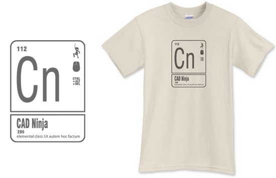 CAD Ninja T Shirt from Life of an Architect