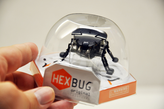 Hexbug packaging