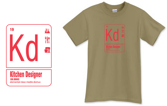Kd Kitchen Designer Element T Shirt from Life of an Architect