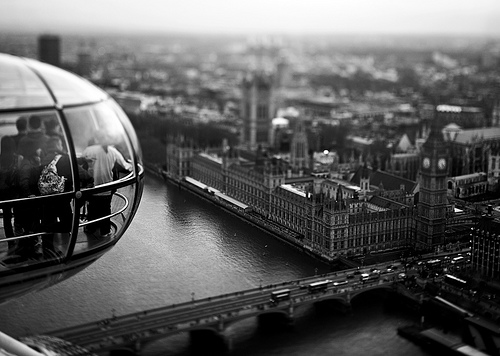 London Eye by photographer Matthew Carbone