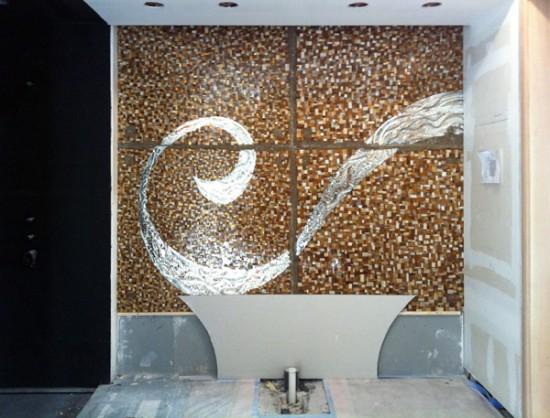 Master Bath mosaic