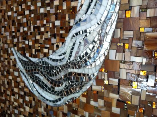 Master Bath mosaic closeup