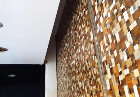 Master Bath mosaic soffit detail