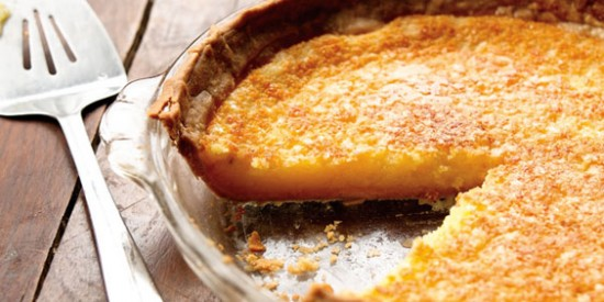 My Mom's Lemon Chess Pie
